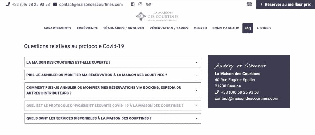 Conseil guest et strategy : actualiser son site internet à l'actualité fidélise vos hôtes