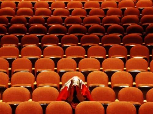 Salles de concert et de réception vides