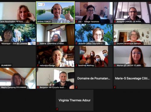 Webinar animé par Guest & Strategy pour le Pays ALO sur la communication en sortie de crise